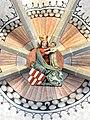 Die Marienkirche in Bad Mergentheim wurde aufwändig restauriert. Schlussstein Kreuzrippengewölbe.jpg