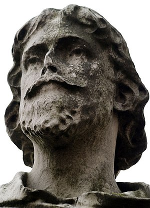 Hundred Years' War (1337–1360) - Statue of Edward III's moneylender William de la Pole