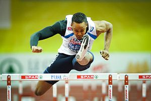 Dimitri Bascou - Bascou at the 2015 European Indoor Championships