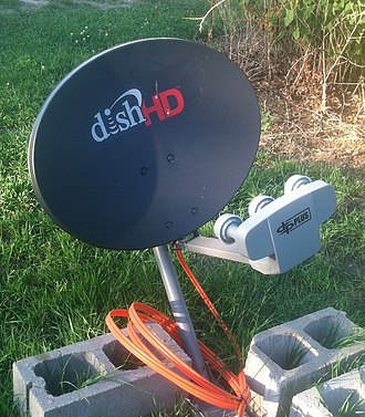 Dish Network - Dish HD, newest version used with the Hopper and Joey system