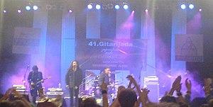 Divlje jagode - Band performing at the 2007 Gitarijada festival