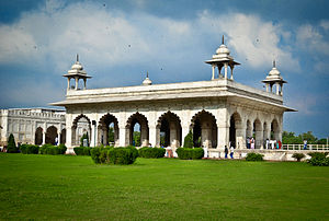 Diwan-i-Khas (Red Fort) - The Diwan-i-Khas in the Red Fort