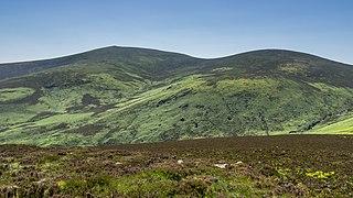 War Hill Mountain in Wicklow, Ireland