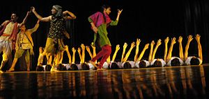 Kurta - Image: Dogri play Bawa Jitto directed by Balwant Thakur Produced in 1986 and still going strong