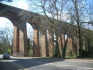 railway viaduct in the London Borough of Barnet