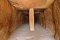 Dolmen de Menga, vista interior desde la entrada.jpg