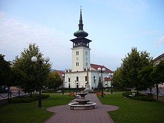 Medzev Town in Slovakia