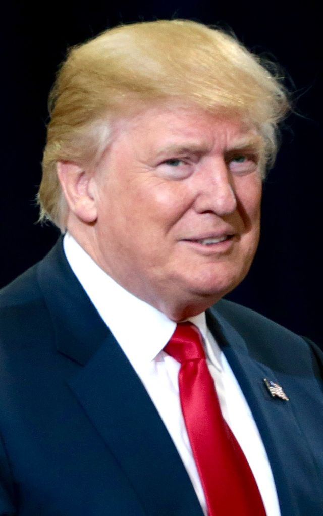 From commons.wikimedia.org: Donald J. Trump October 2016 {MID-226368}
