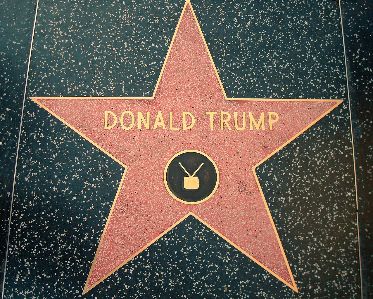 Hollywood Walk Of Fame Star Cake Topper