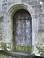 Door, Gwydyr Uchaf Chapel - geograph.org.uk - 1008013.jpg