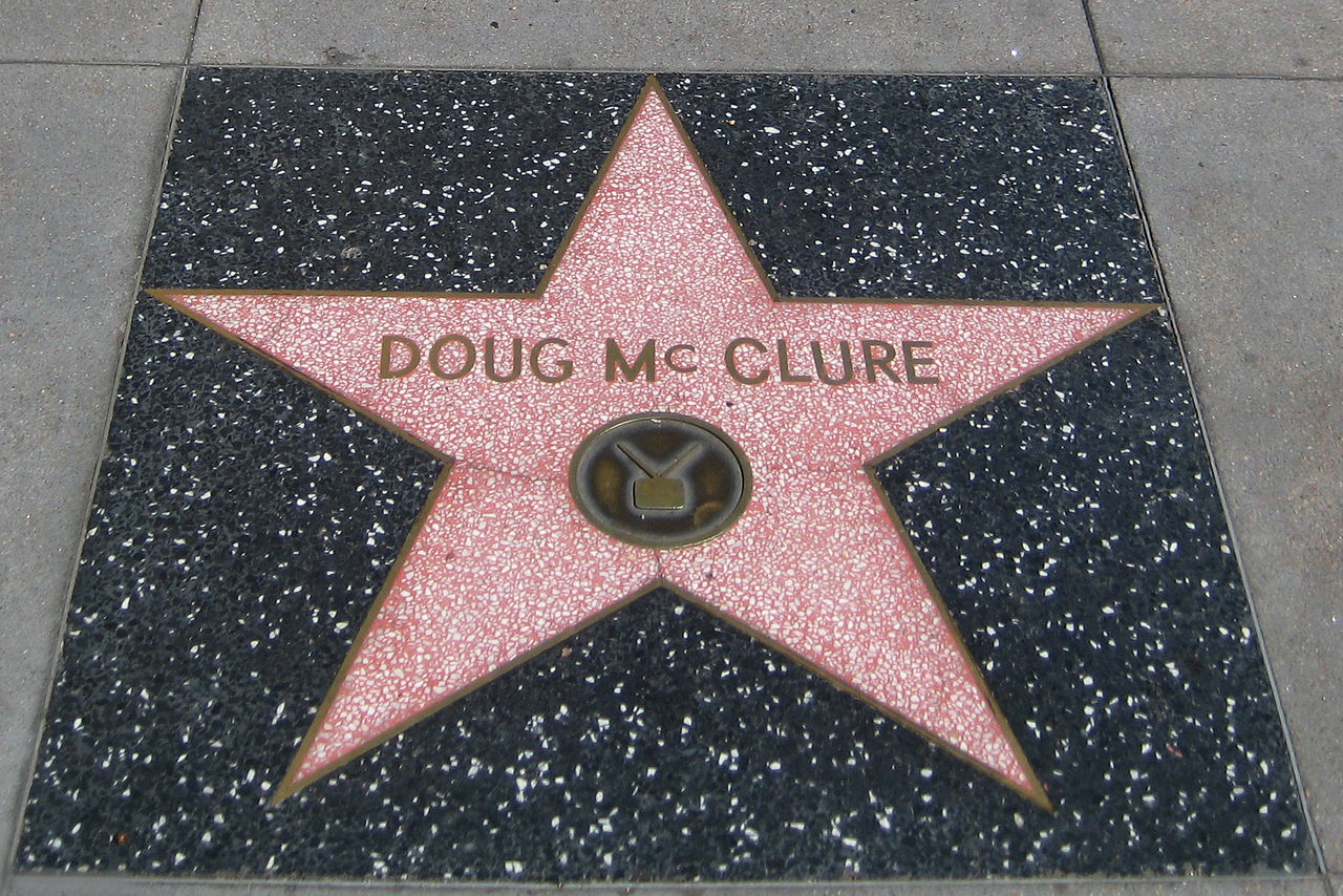 file doug mcclure s star on the hollywood walk of fame jpg