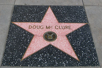 Doug McClure - Doug McClure's star on the Hollywood Walk of Fame