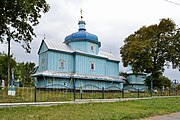 Dovhiv Gorokhivskyi Volynska-Saint Michael Church-north-east view.jpg