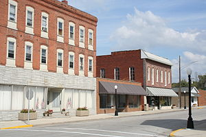 Bethalto, Illinois - Image: Downtown Bethalto