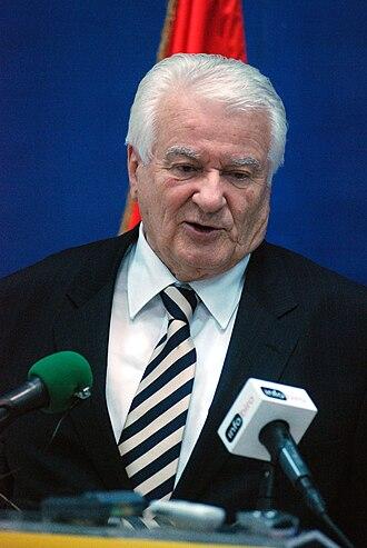Democratic Party (Serbia) - Dragoljub Mićunović