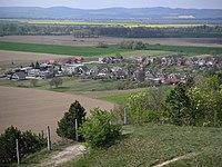 Ducove village from Kostolec.JPG