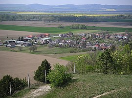 Ducove village from Kostolec.JPG