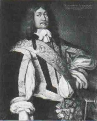 House of Schleswig-Holstein-Sonderburg-Augustenburg - Duke Ernst Günther I, first Duke of Augustenborg (1609-1689).