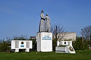 Duliby Turiiskyi Volynska-monument to the countryman-general view-1.jpg