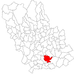 Location of Dumbrava, Prahova