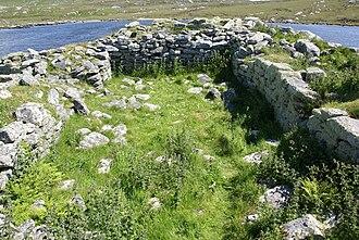 Dun an Sticir - Medieval building within Dun an Sticir