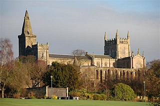 Dunfermline Abbey Church in Fife, Scotland