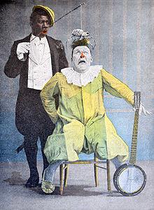 L'histoire de Rafael Padilla, le Clown Chocolat 220px-Duo_de_Clown_Foottit_et_Chocolat