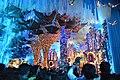 Durga Puja Pandal Interior - Tridhara Sammilani - Manohar Pukur Road - Kolkata 2017-09-26 4005.JPG