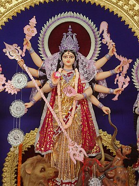 https://upload.wikimedia.org/wikipedia/commons/thumb/a/a9/Durga_idol_2011_Burdwan.jpg/285px-Durga_idol_2011_Burdwan.jpg