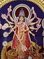 Durga idol 2011 Burdwan.jpg