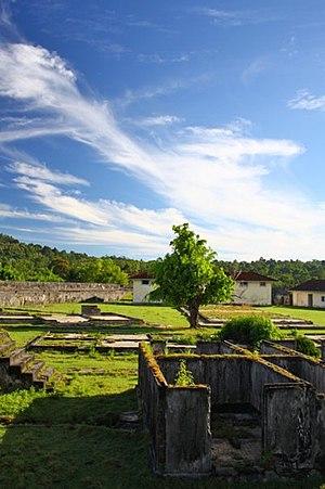Saparua - Image: Duurstede Fort Inside