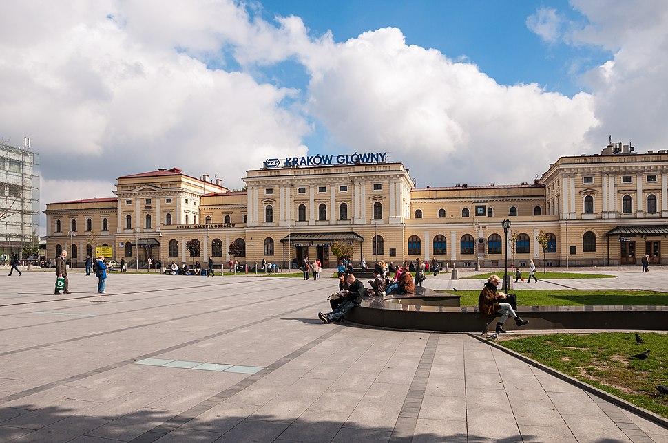 Dworzec PKP w Krakowie
