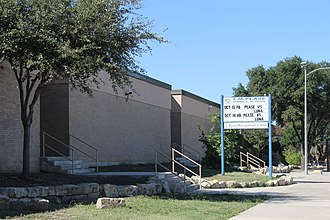 Elisha M. Pease - The E. M. Pease Middle School is located at 201 Hunt Lane across from El Sendero subdivision in the Northside Independent School District in San Antonio, Texas.