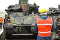 EAS Bradleys arrive in Grafenwoehr (12218441585).jpg