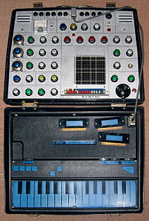 EMS Synthi AKS Synthesizer model
