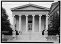 EXTERIOR, EAST FRONT - Old Montgomery County Courthouse, Third and Main Streets, Dayton, Montgomery County, OH HABS OHIO,57-DAYT,2-15.tif