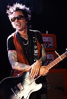 Earl Slick American guitarist