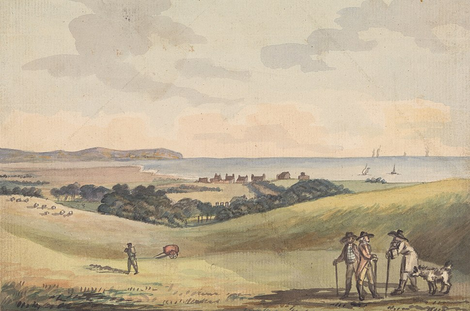 Eastbourne from Lord G. Cavendish's Seat in the Park by John Nixon