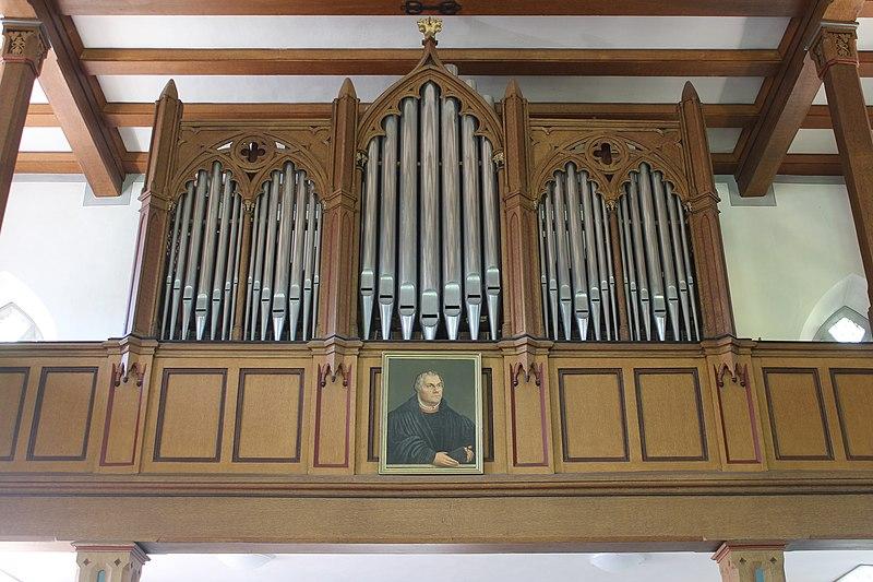 Datei:Ebsdorfergrund-Dreihausen-ev Kirche-Orgel-Prospekt 1.JPG