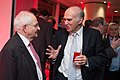 Econ Drinks 14 - Martin Wolf Vince Cable (15803231428).jpg