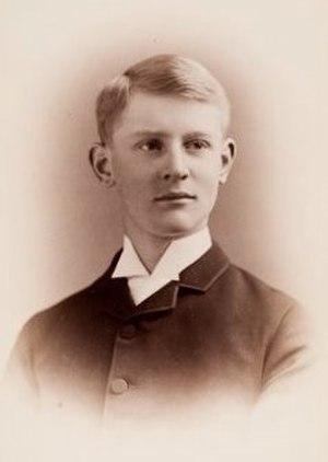Edgar Buckingham - Edgar Buckingham c1886