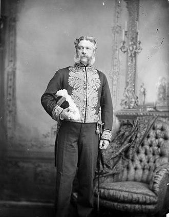 Edgar Dewdney - Edgar Dewdney, 1883