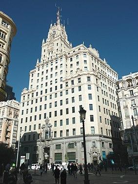 Edificio Telefónica (Gran Vía 28, Madrid) 03.jpg