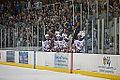 Edmonton Oilers Rookies vs UofA Golden Bears (15275334105).jpg