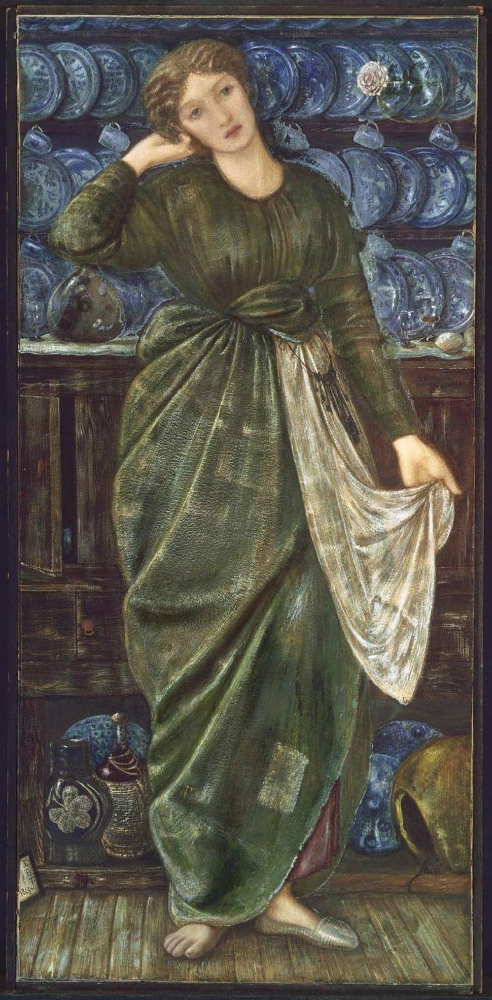 Edward Burne-Jones Cinderella