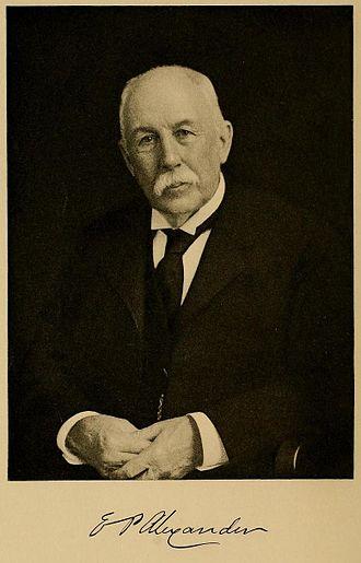 Edward Porter Alexander - Edward Porter Alexander in 1900s