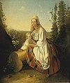 Eesti naine lapsega. Variant, Carl Timoleon von Neff, EKM j 153-39 M 38.jpg