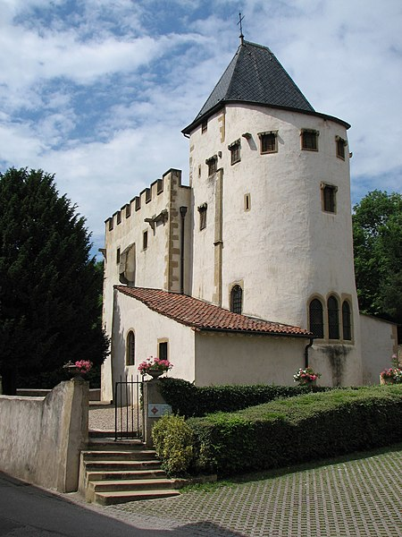 Saint-Quentin church in Scy-Chazelles (near Metz, France) and where Robert Schuman is buried.