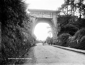 John Benjamin Macneill - MacNeill's Egyptian Arch, Newry, ca. 1905