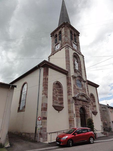 Einville-au-Jard (M-et-M) église Saint-Laurent
